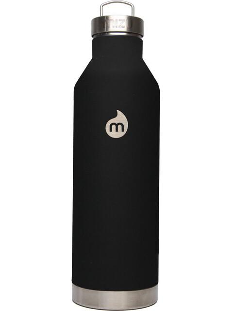 MIZU V8 - Gourde - with Steel Cap 800ml noir